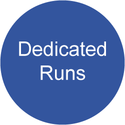 Services Dedicated Runs
